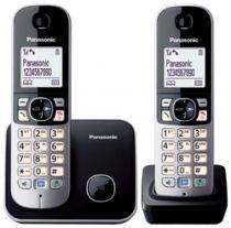 Telefoni cordless DECT - Telefono Panasonic KX-TG6812GB Nero