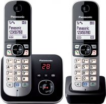 Telefoni cordless DECT - Telefono Panasonic KX-TG6822GB Nero