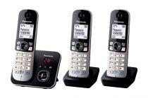 Comprar Telefones DECT sem Fios - Telefone Panasonic KX-TG6823GB preto
