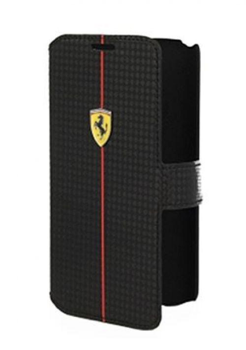 Comprar Bolsas Originais Ferrari - Ferrari Formula One Carbon Series Book Flip Case for LG G2