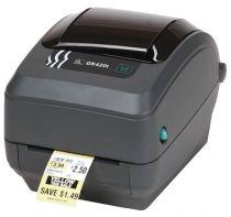 Revenda Impressoras Etiquetas - ZEBRA Impressora CODIGO BARRAS GK420D USB  SERIE RS2
