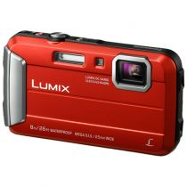 Fotocamere Panasonic - Panasonic Lumix DMC-FT30 red
