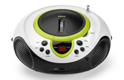 Comprar  - Radio CD Lenco SCD-38 USB verde