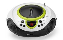 Revenda Rádio Cassette / CD - Radio CD Lenco SCD-38 USB verde