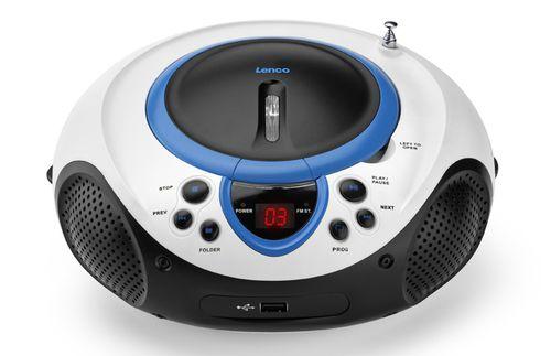 Comprar  - Radio CD Lenco SCD-38 USB blue