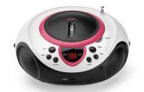Comprar Rádio Cassette / CD - Radio CD Lenco SCD-38 USB pink