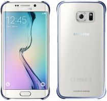 Accessori Galaxy S6 Edge - Samsung Clear Cover Nero Galaxy S6 Edge