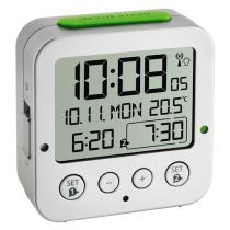 Revenda Relógios Parede - TFA 60.2528.54 Bingo Funk Despertador + Temperatura