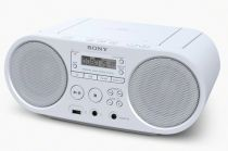 Radio Cassette CD Player - Radio CD Sony ZS-PS50W Bianco