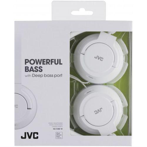Auscultadores JVC HA-S180-W-E branco