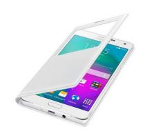 Accessori Galaxy A7 - Samsung S-View Cover EF-CA700 Galaxy A7, Bianco