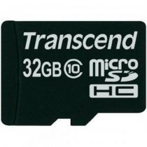 Micro SD / TransFlash - Transcend MicroSDHC Card 32GB Class 10