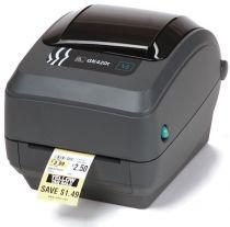 Stampanti etichetta - ZEBRA Stampante TERMICA CARTOES GK420T USB/E