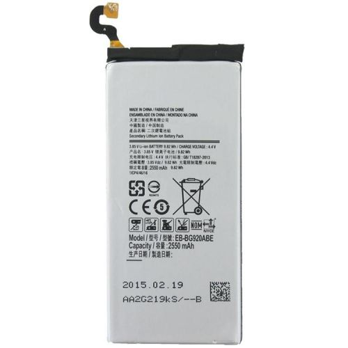 - Bateria Samsung EB-BG920ABE Galaxy S6 NFC Fotografias