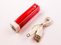 Power Banks - Powerbank, Li-ion, 2200mAh, 8,2Wh, rosso