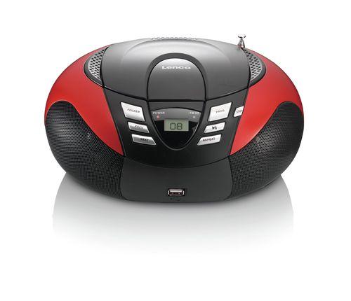 Radio CD Lenco SCD-37 USB red