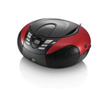 Comprar Rádio Cassette / CD - Radio CD Lenco SCD-37 USB red