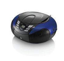Comprar Rádio Cassette / CD - Radio CD Lenco SCD-37 USB blue