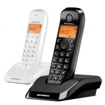 Comprar Telefones DECT sem Fios - Telefone sem fios DECT MOTOROLA S1202 Duo Startac branco e preto