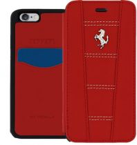 Comprar Acessórios Apple iPhone 6 / 6 Plus - Ferrari 458 Book Case para Apple iPhone 6, 6s Red