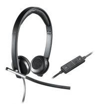 Revenda Auscultadores Logitech - LOGITECH Auscultadores H650E STEREO USB