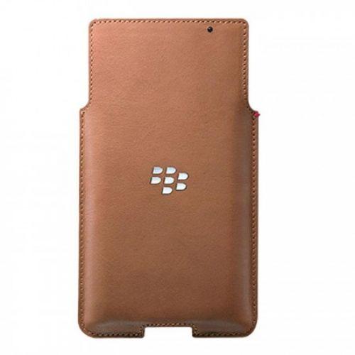 Custodia Pelle Blackberry PRIV tan ACC-62172-002