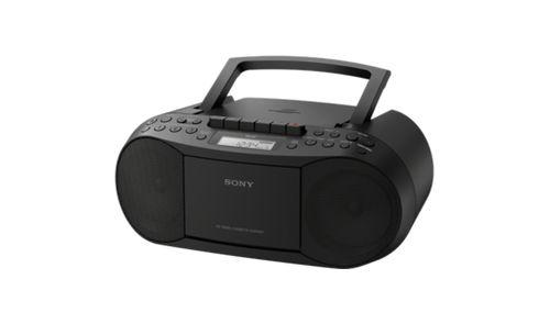Radio CD Sony CF-DS70B black