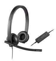 Cuffie Logitech - Cuffia Logitech H570E USB Cuffia Stereo
