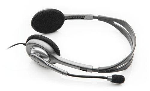 Auscultadores Logitech H111 Stereo Auscultadores