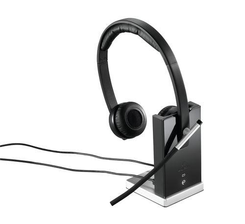 Auscultadores Logitech H820E Wireless Auscultadores Dual
