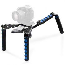 achat Fixation & Support - Reflex video - walimex pro Cineast I Hand- + Shoulder Tripod