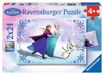 Comprar Juguetes para Exterior - Ravensburger Sisters Always 2 X 24 pcs Puzzle  Disney Frozen