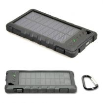 Batteria Portatili - PORT Caricabatteria SOLAR POWERBANK BATTERY 8000