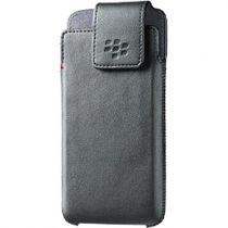 Accessori Blackberry DTEK50 - BlackBerry DTEK50 Pelle Swivel Holster (Black) ACC-63005-0