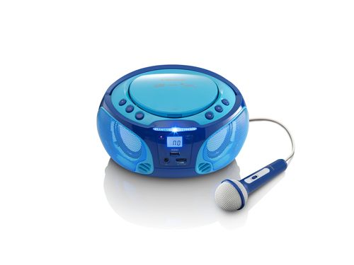 Comprar  - Radio CD Lenco SCD-650 blue