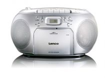 Radio Cassette CD Player - Radio CD Lenco SCD-420 Argento