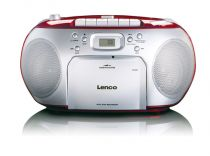 Comprar Rádio Cassette / CD - Radio CD Lenco SCD-420 red