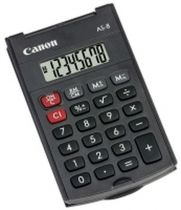 achat Calculatrices - Calculatrice Canon AS-8 10er Pack