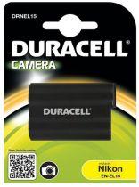 Batterie per Nikon - Batteria Duracell Li-Ion Batteria 1600 mAh per Nikon EN-EL15