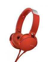 Cuffie Sony - Cuffia Sony MDR-XB550APR red