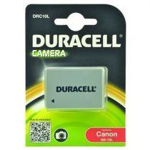 Batterie per Canon - Batteria Duracell Li-Ion Batteria 820 mAh per Canon NB-10L
