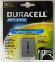 Batterie per Canon - Batteria Duracell Li-Ion Batteria 820 mAh per Canon NB-5L