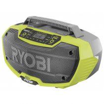 Revenda Rádios / Recetores Mundiais - Radio Ryobi R18RH-0 sem-fios Stereo Radio