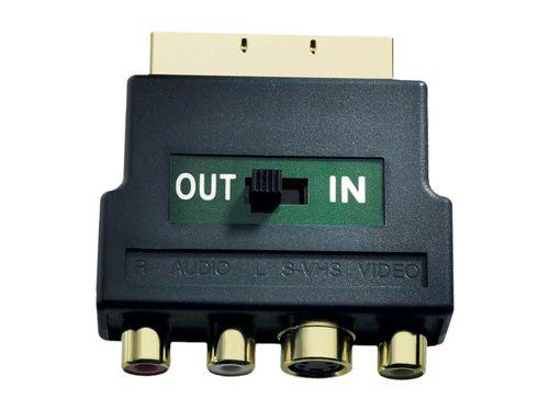 Comprar  - in-akustik Premium Scart Adaptador S-VHS/RCA IN+OUT