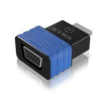 Revenda Cabos e Adaptadores - Raidsonic ICY BOX IB-AC516 HDMI para VGA Adapter