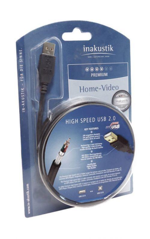 Comprar  - Cabo in-akustik Premium High Speed USB A / B 2.0 3,0 m