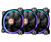 Revenda Coolers - Thermaltake Fan 140mm Riing 14 LED RGB 3 Pack