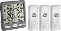 Revenda Termómetros / Barómetros - TFA 30.3054.10 clima Monitor wireless Higrómetro térmico