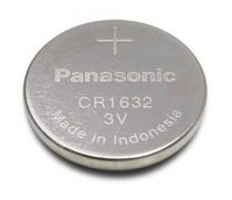 Batterie - 1 Panasonic CR 1632 Lithium Power