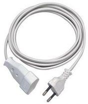 Adattatori rete - REV Euro Plug Extension Lead 5,0 m Bianco